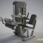 دستگاه بدنسازی پشت پا نشسته Dhz مدل E3023 مینی اپل