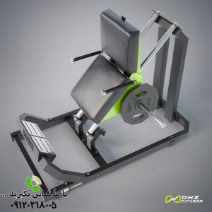 دستگاه بدنسازی پرس پا وزن آزاد