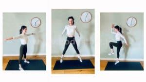 تمرینات ورزشی در خانه